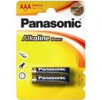 Батарейка Panasonic ALKALINE POWER AAA BLI 2 (LR03REB/2BP)