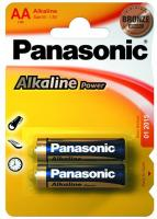 Батарейка Panasonic ALKALINE POWER AA BLI 2(LR6REB/2BP)