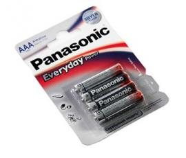 Батарейка Panasonic EVERYDAY POWER AAA BLI 4 ALKALINE (LR03REE/4BR)