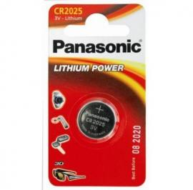 Батарейка Panasonic CR 2025 BLI 1 LITHIUM (CR-2025EL/1B)